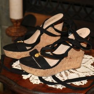 Guess Cork Wedge Sandals